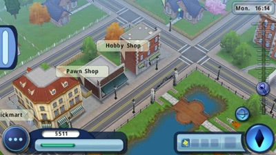 Sims 3 HD full - Symbian game screenshots. Gameplay Sims 3 HD full.