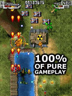 Sky force - Symbian game screenshots. Gameplay Sky force.