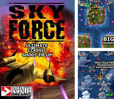 In addition to the sis game Gear Wager for Symbian phones, you can also download Sky force for free.