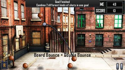 Slam Dunk Basketball - Symbian game screenshots. Gameplay Slam Dunk Basketball.