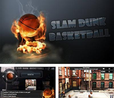 In addition to the sis game Castlevania Aria of Sorrow for Symbian phones, you can also download Slam Dunk Basketball for free.