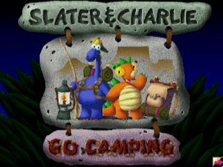 Slater & Charlie Go Camping