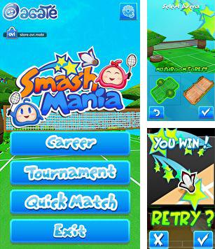 In addition to the sis game Dark Arena for Symbian phones, you can also download Smash Mania for free.