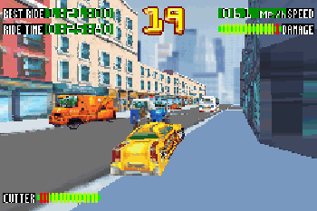 Smashing drive - Symbian game screenshots. Gameplay Smashing drive.