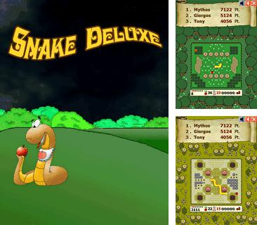 In addition to the sis game Hit the ice for Symbian phones, you can also download Snake Deluxe for free.