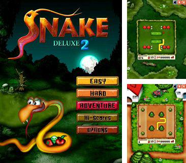 In addition to the sis game Real football 2010 HD for Symbian phones, you can also download Snake deluxe 2 for free.