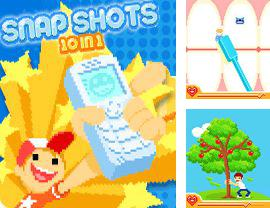 In addition to the sis game Open Tennis Lite for Symbian phones, you can also download Snap Shots 10 in 1 for free.