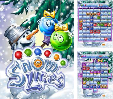 In addition to the sis game Plumber Pete for Symbian phones, you can also download Snow lines for free.
