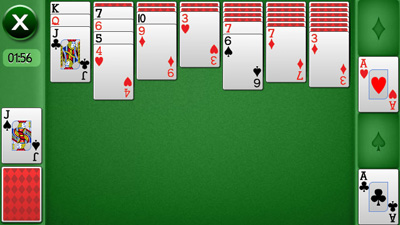 Solitaire touch download free Symbian game. Daily updates with the best sis games.
