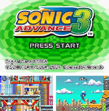 In addition to the sis game Cannons for Symbian phones, you can also download Sonic Advance 3 for free.