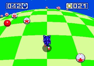 Sonic e Knuckles  - Screenshots do jogo para Symbian. Jogabilidade do Sonic and Knuckles.