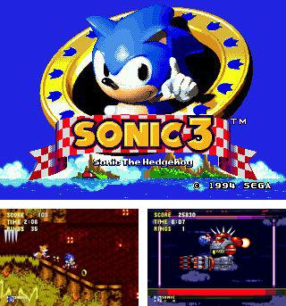 In addition to the sis game The Legend of Kage for Symbian phones, you can also download Sonic the Hedgehog 3 for free.