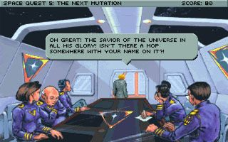 Space Quest 5: Roger Wilco The Next Mutation download free Symbian game. Daily updates with the best sis games.