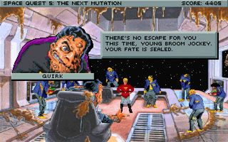 Play Space Quest 5: Roger Wilco The Next Mutation for Symbian. Download top sis games for free.