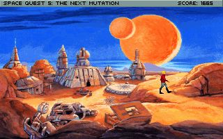 塞班版游戏截图。King's Quest 2: Romancing the Throne游戏。