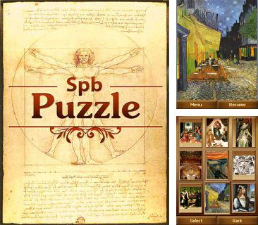 In addition to the sis game FIFA 08 for Symbian phones, you can also download SPB Puzzle for free.