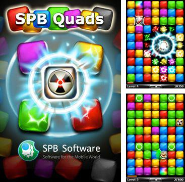In addition to the sis game Dual blades for Symbian phones, you can also download Spb quads for free.