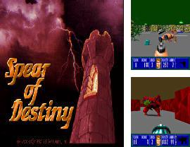 In addition to the sis game Kick Master for Symbian phones, you can also download Spear of destiny for free.