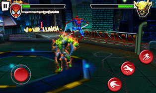 Play Spider-Man total mayhem HD for Symbian. Download top sis games for free.