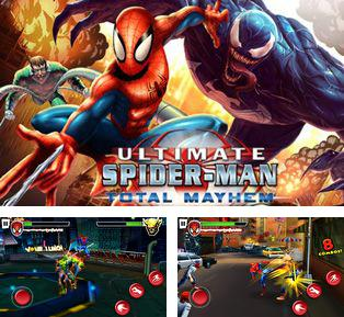 In addition to the sis game Paintball 2 for Symbian phones, you can also download Spider-Man total mayhem HD for free.