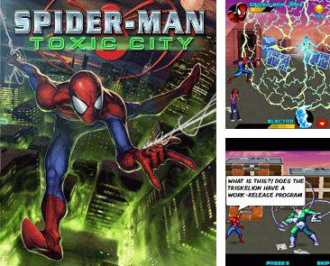 In addition to the sis game Jelly Wars for Symbian phones, you can also download Spider-Man: Toxic сity HD for free.