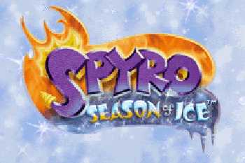 Скріншот Symbian гри Spyro Season of Ice sis на телефон. Ігровий процес.