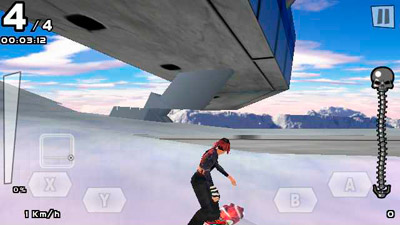 SSX 3 - Symbian game screenshots. Gameplay SSX 3.