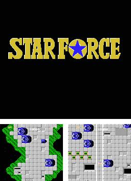 In addition to the sis game Glow Racer for Symbian phones, you can also download Star Force for free.