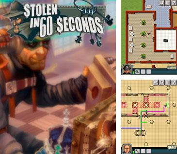 In addition to the sis game Ball rush aqua for Symbian phones, you can also download Stolen in 60 seconds for free.