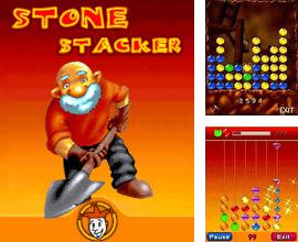 In addition to the sis game Anrufen for Symbian phones, you can also download Stone stacker for free.