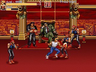 Streets of Rage 4 - Symbian game  Streets of Rage 4 sis
