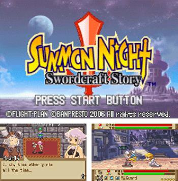 In addition to the sis game Broken Sword 2: The Smoking Mirror for Symbian phones, you can also download Summon Night: Swordcraft Story for free.