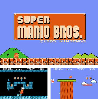 In addition to the sis game Megaman Zero 2 for Symbian phones, you can also download Super Mario Bros for free.