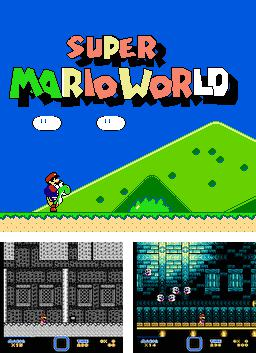 In addition to the sis game Desert Demolition: Starring Road Runner and Wile E. Coyote for Symbian phones, you can also download Super Mario World for free.