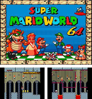 In addition to the sis game Contre Jour for Symbian phones, you can also download Super Mario world 64 for free.