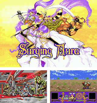 In addition to the sis game GLTron for Symbian phones, you can also download Surging aura for free.