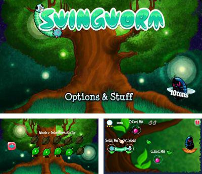 In addition to the sis game Gauntlet for Symbian phones, you can also download SwingWorm for free.