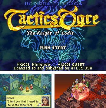 Tactics Ogre: The Knight of Lodis - Symbian game  Tactics