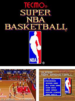 Super NBA basketball