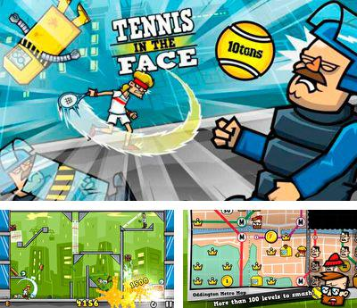 In addition to the sis game Checkers 2 for Symbian phones, you can also download Tennis in the Face for free.