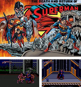 Además del juego sis Edad de la magia  para teléfonos Symbian, también puedes descargarte gratis La muerte y el regreso de Superman, The death and return of Superman.
