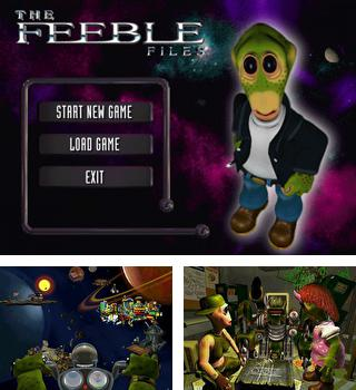 In addition to the sis game Tekken 2 for Symbian phones, you can also download The Feeble Files for free.
