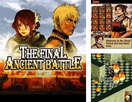 In addition to the sis game Grand slam: The tennis tournament for Symbian phones, you can also download The Final Ancient Battle for free.