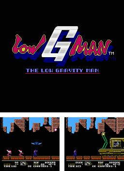 The Low Gravity: Low G Man