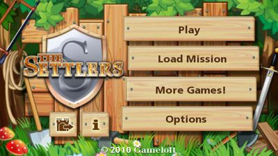 The Settlers HD download free Symbian game. Daily updates with the best sis games.