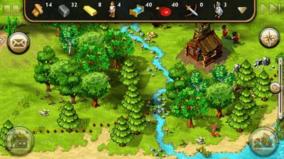 The Settlers HD - Symbian game screenshots. Gameplay The Settlers HD.