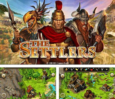 In addition to the sis game BLAZ3D for Symbian phones, you can also download The Settlers HD for free.