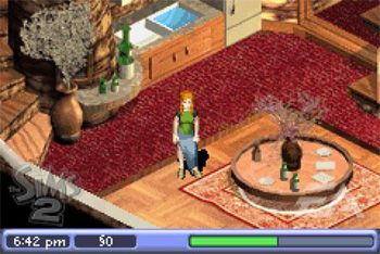 The Sims 2 - Symbian game screenshots. Gameplay The Sims 2.