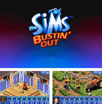In addition to the sis game HardBall '95 for Symbian phones, you can also download The Sims Bustin' Out for free.