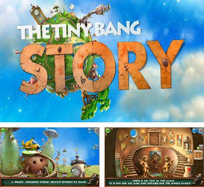 In addition to the sis game Hit the ice for Symbian phones, you can also download The Tiny Bang Story for free.